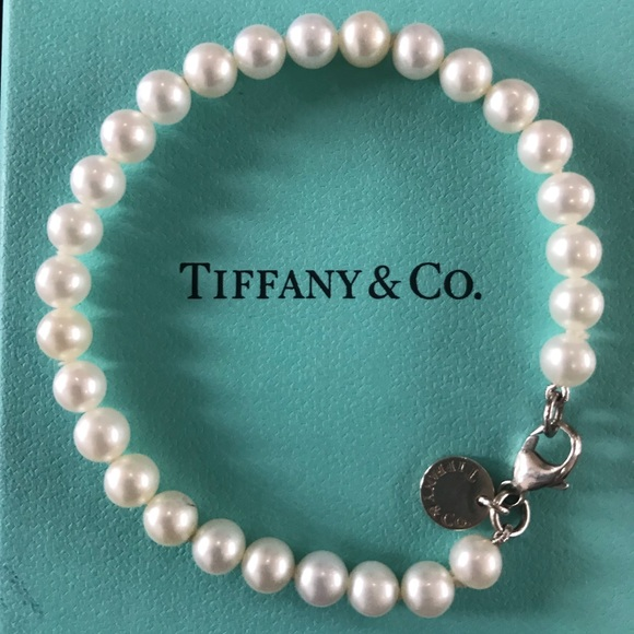 89ccceeda Tiffany & Co. Jewelry   Tiffany Co Pearl Bracelet   Poshmark